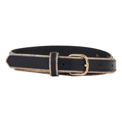Des petits hauts Pénélope Gold Edge Leather Belt-product