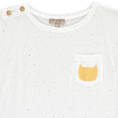 Emile et Ida Cat Polka Dot T-Shirt-product