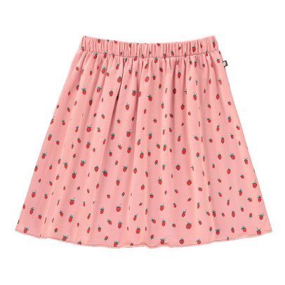 Oeuf NYC Organic Pima Cotton Strawberry Skirt-product