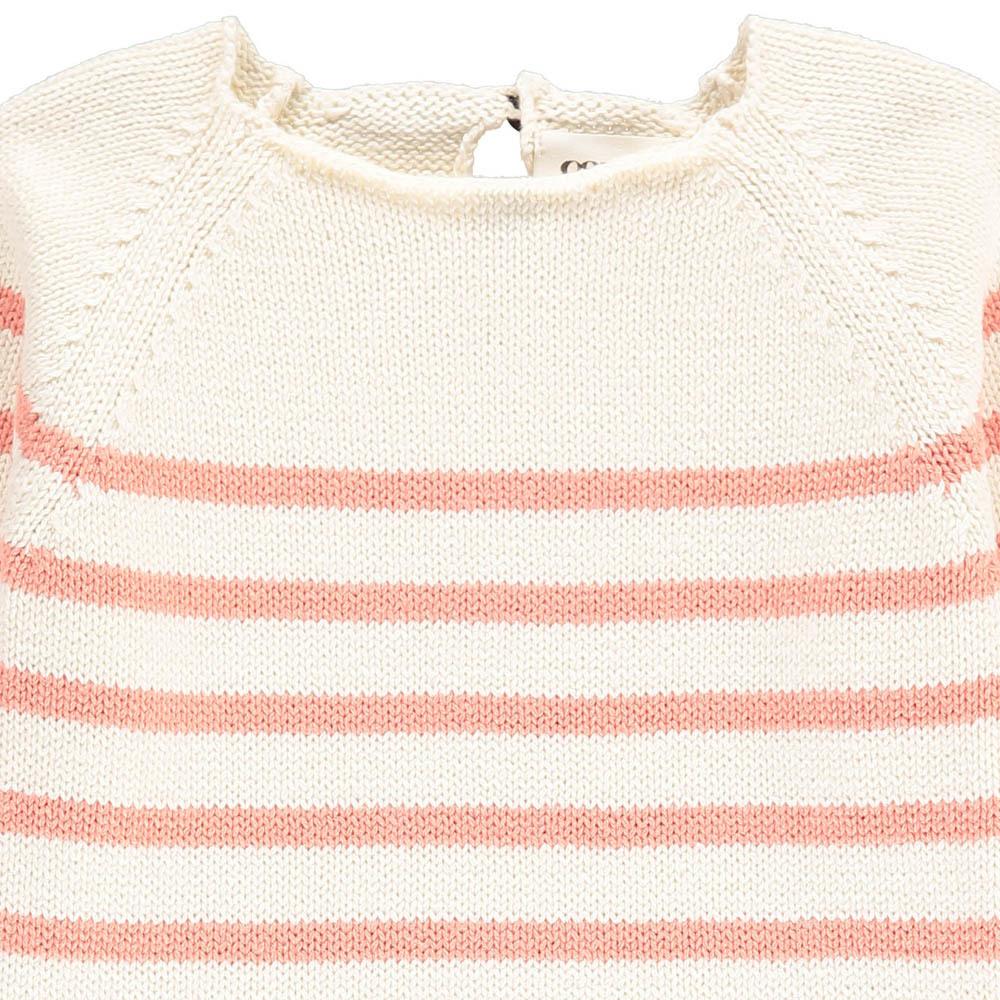 Ecru Striped Jumper-product