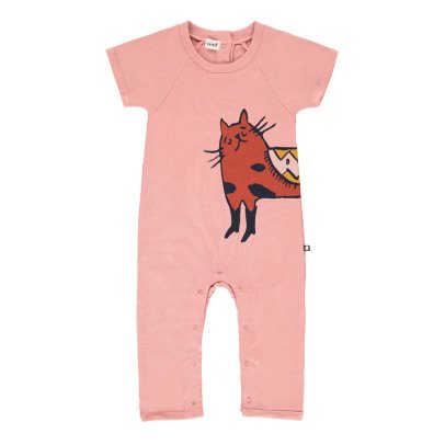 Oeuf NYC Cat Fleece Jumpsuit-listing