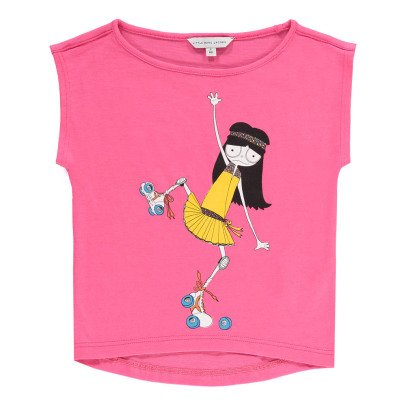 Little Marc Jacobs Rollerblade Miss Marc T-Shirt-listing