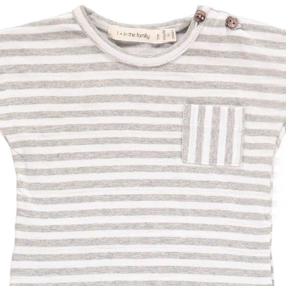 Ferran Pocket Striped Jumpsuit-product