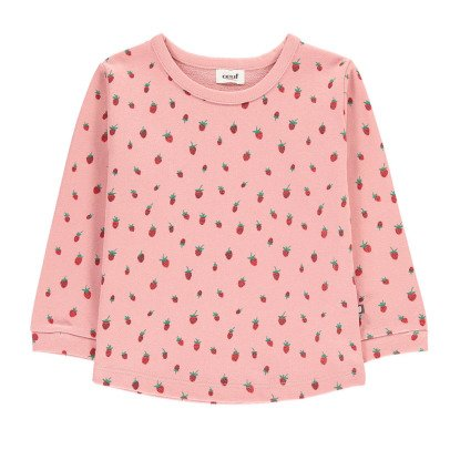 Oeuf NYC Strawberry Sweatshirt-listing