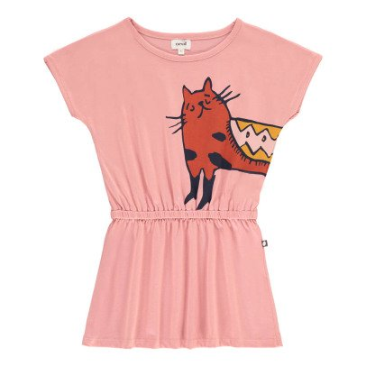 Oeuf NYC Organic Pima Cotton Cat Dress-listing