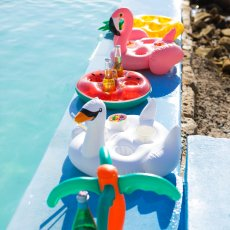 Sunnylife Swan Floating Cup Holder-listing