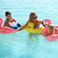 Sunnylife Children's Inflatable Duck Bath-listing