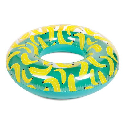 Sunnylife Round Inflatable Banana Bath-listing