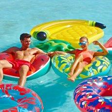 Sunnylife Flotador redondo Plátanos-listing
