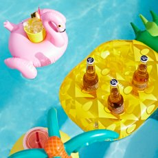 Sunnylife Pineapple Floating Cup Holder-listing
