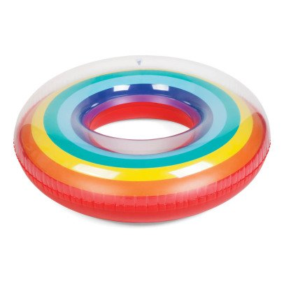 Sunnylife Round Inflatable Rainbow Bath-listing