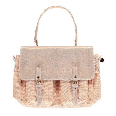 Craie Lurex Maths Mini Leather + Canvas Reversible + Adjustable Bag-product