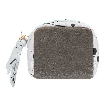 Craie Box Leather Purse-product
