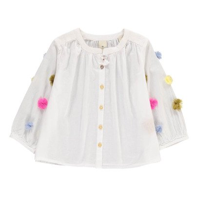 Scotch & Soda Pompom Button-Up Blouse-product