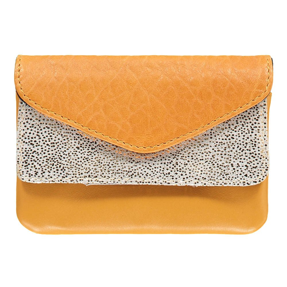 Craie Pocket Double Flap Leather Pouch-product