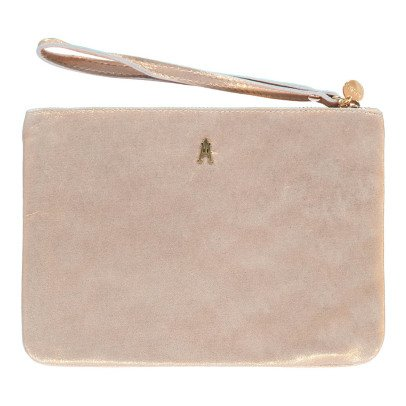Craie Iridescent Leather Pouch-listing