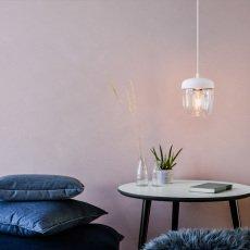 Vita White Acorn Ceiling Light-listing
