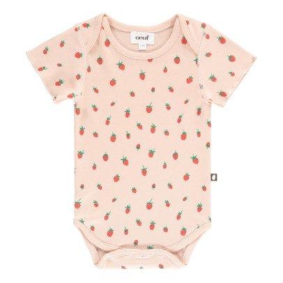 Oeuf NYC Organic Pima Cotton Strawberry Body-product