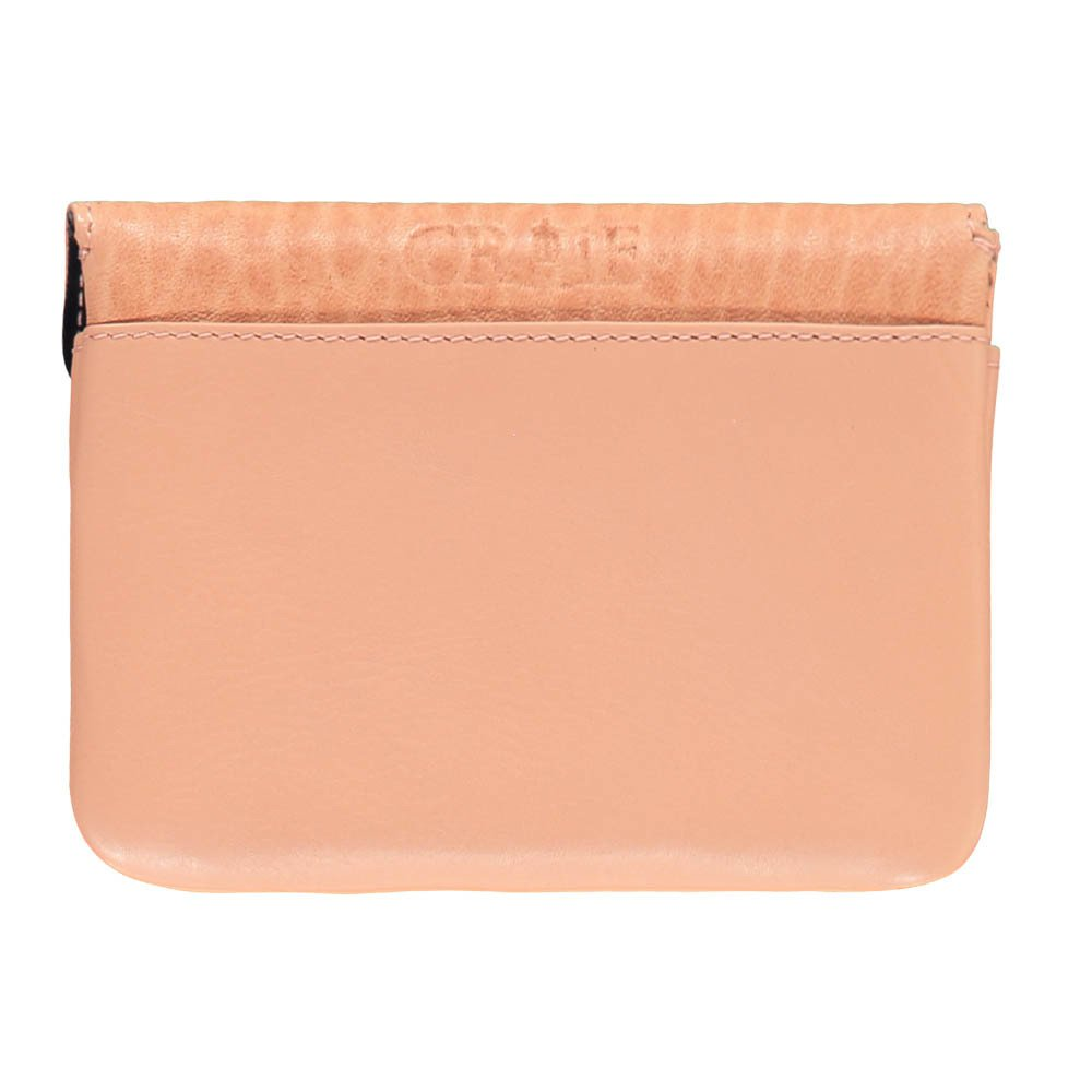 Pocket Double Flap Leather Pouch-product