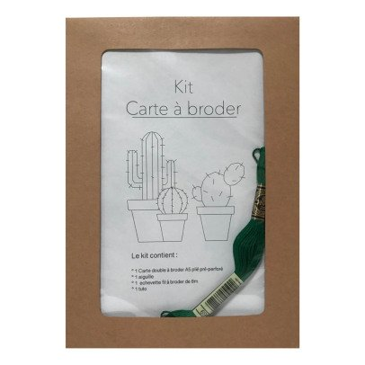 Anso Cactus Embroidery Card-listing
