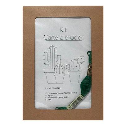 Anso Stickerei-Karte Kaktus -listing
