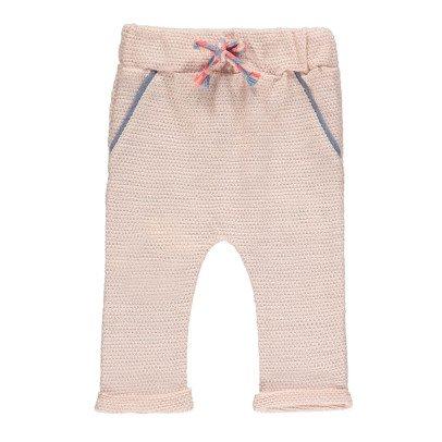 Blune Kids La Vie En Rose Lurex Harem Trousers-listing