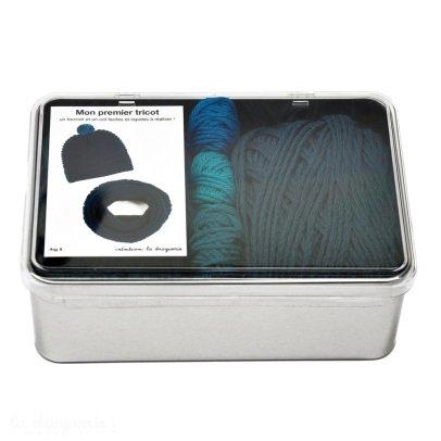 Idées de Saison by La Droguerie Gorro y bufanda para tricotar Mi primer tricot-listing