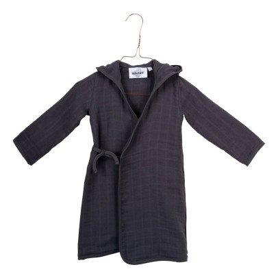 Moumout Pépin Honeycomb Kimono Dressing Gown-listing