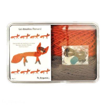 Idées de Saison by La Droguerie DIY Knit Fox Soft Toy-listing
