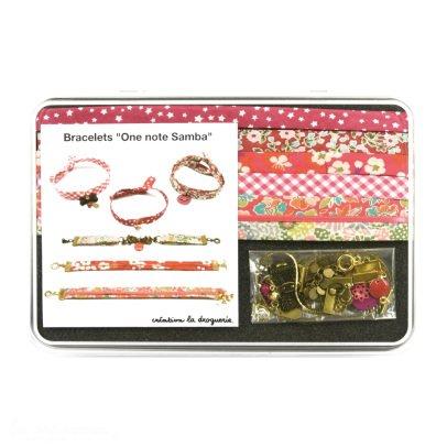 Idées de Saison by La Droguerie One Note Samba DIY Bracelettes-listing