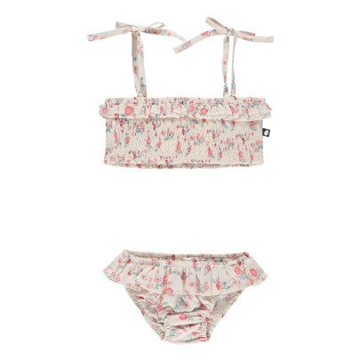 Oeuf NYC Pima Cotton Floral 2 Piece Swimsuit-product