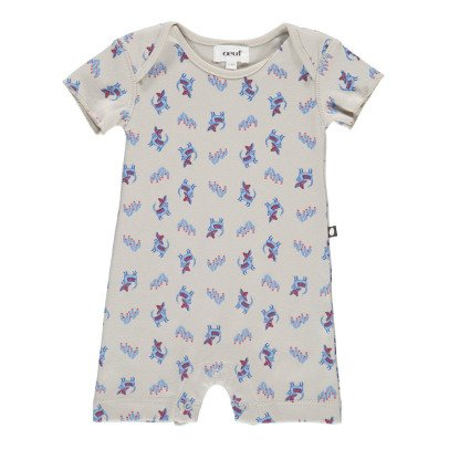 Oeuf NYC Organic Pima Cotton Chihuahua Playsuit-listing