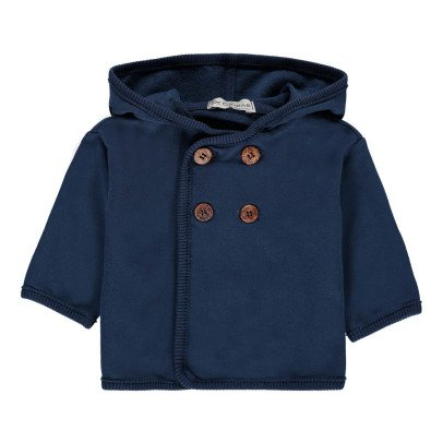 De Cavana Fleece Hooded Jacket-listing