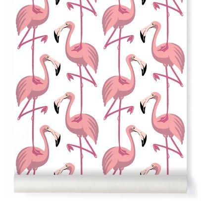 Papermint Classic Flamingo Wallpaper-listing