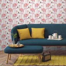 Papermint Papier-peint Flamingo Classique-listing