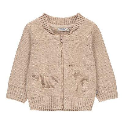 Imps & Elfs Organic Cotton Animal Cardigan-listing