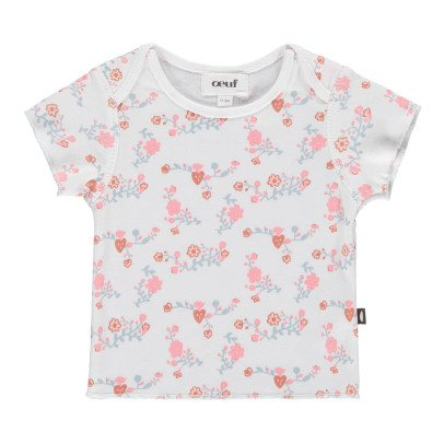 Oeuf NYC Organic Pima Cotton Floral T-Shirt-product