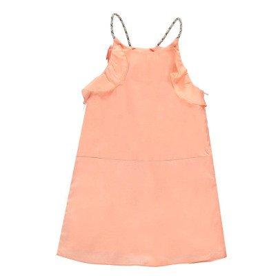 Chloé Vestito Volant Bretelle Lurex -listing