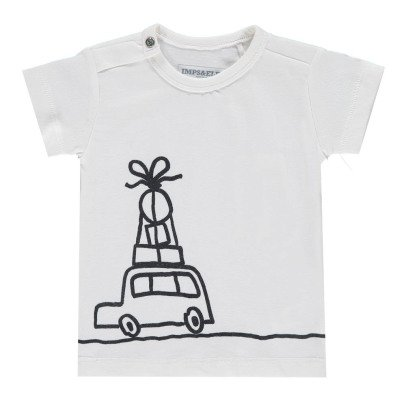 Imps & Elfs Organic Cotton Car T-Shirt-listing