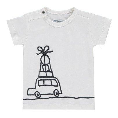 Imps & Elfs T-shirt Voiture in cotone bio-listing