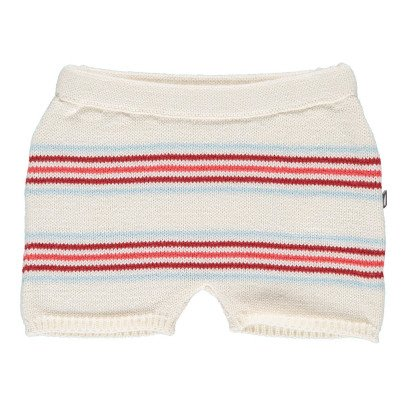 Oeuf NYC Striped Fleece Shorts-product