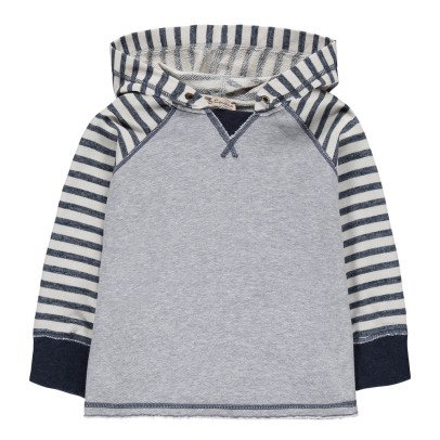 De Cavana Striped Hoodie-listing