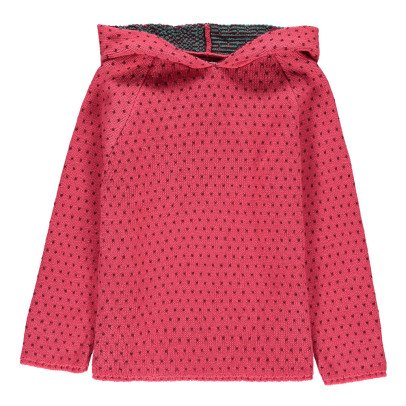 Oeuf NYC Strawberry Hooded Jumper-listing