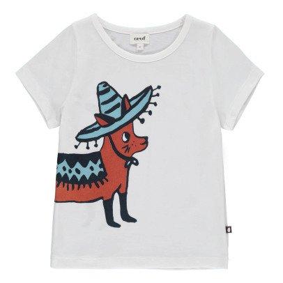 Oeuf NYC Camiseta Chihuahua Sombrero Algodón Pima Biológico-listing