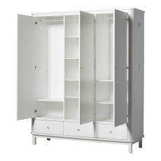 Oliver Furniture Schrank 3 Türen Birke-listing