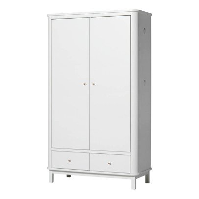 Oliver Furniture 2 Door Birch Wardrobe-listing