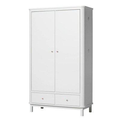 Oliver Furniture Armoire 2 portes en bouleau-listing