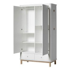 Oliver Furniture Armoire 2 portes en chêne-listing