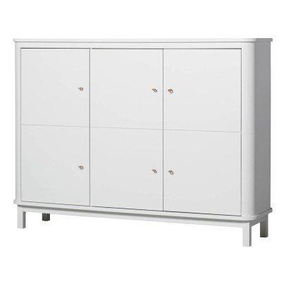 Oliver Furniture Schrank Multi-Aufbewahrung 3 Türen Birke-listing