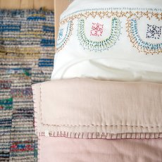Camomile London Quilted Two coloured Embroidered Cover-listing